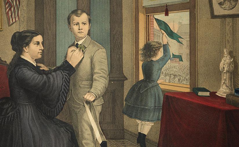 St. Patrick's Day in America (1872)
