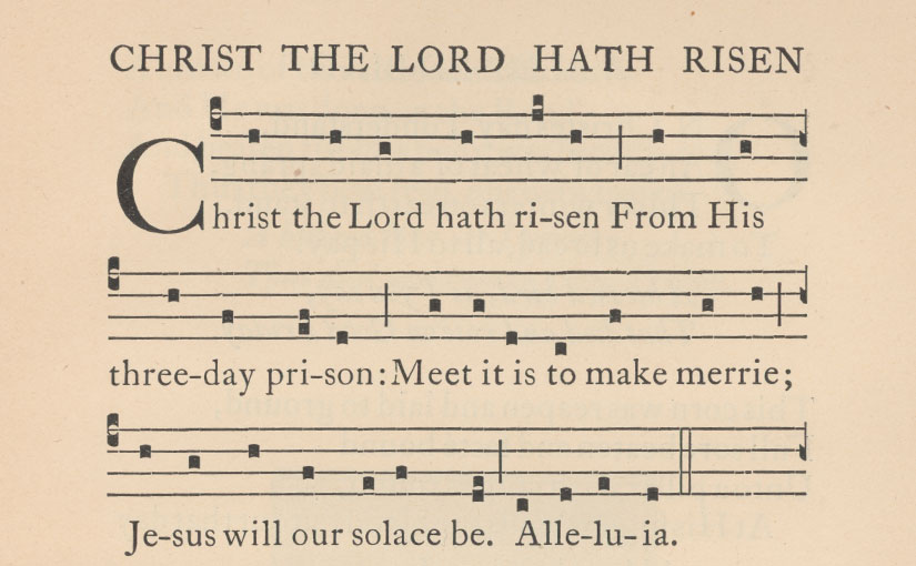Easter hymns from the Saint Dominic's Press