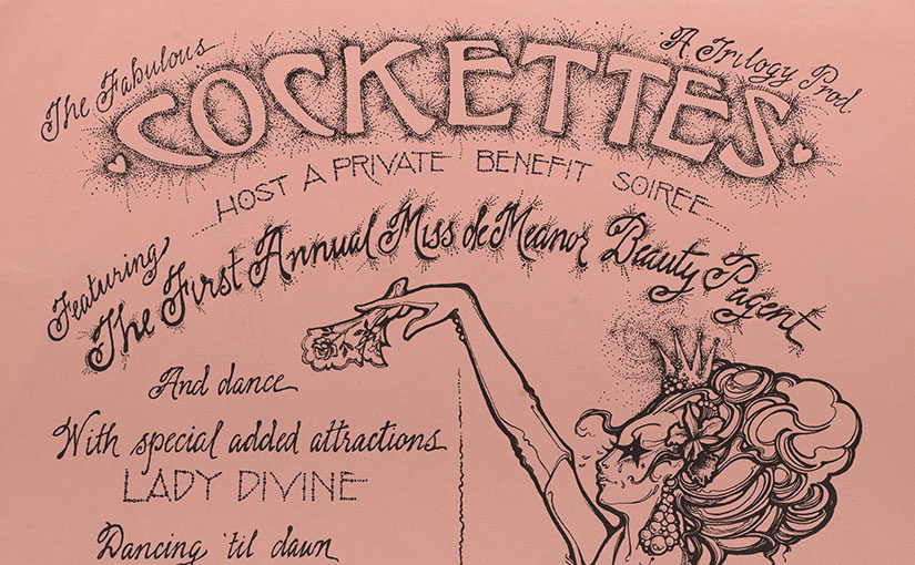 Recent Acquisition: The Fabulous Cockettes Host a Private Benefit