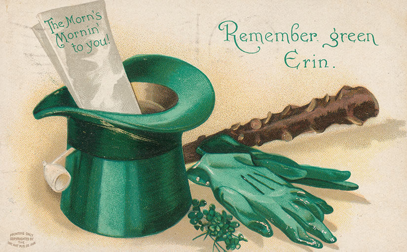St. Patrick's Day Postcards