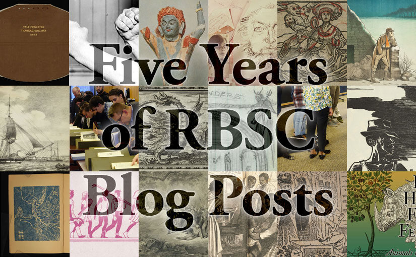 Five Years of RBSC Blog Posts