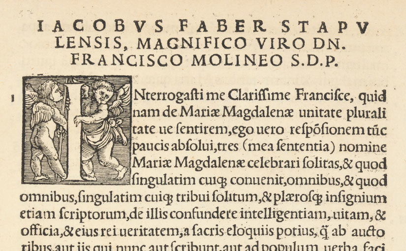 An Example of Early Modern French Humanist Scholarship