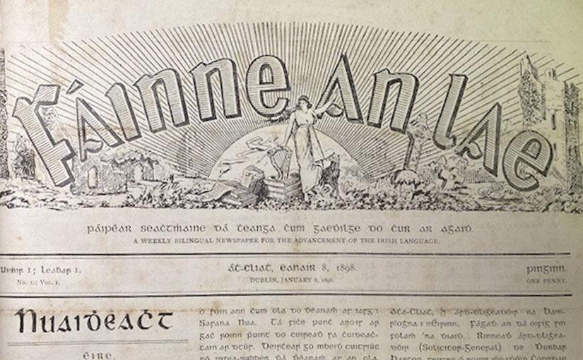 Fáinne an Lae — Advertising to the  Irish