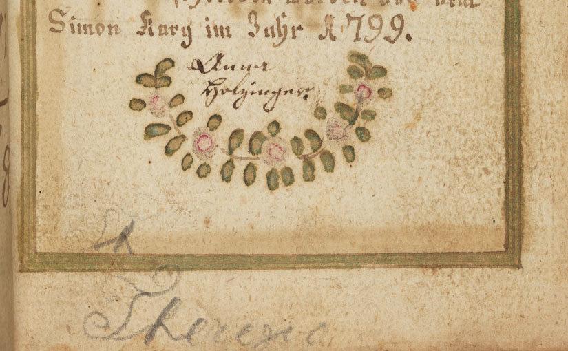 Prayer Books of German Catholics in Eighteenth-Century America