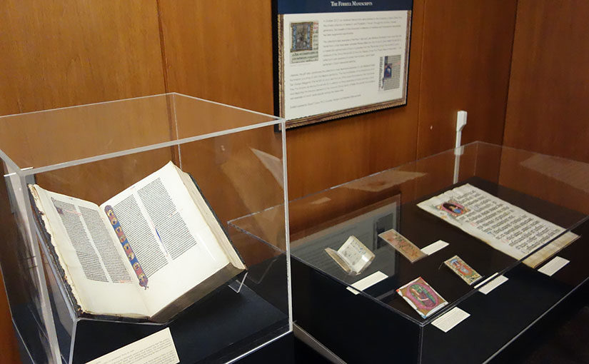 Medieval Manuscripts from the Ferrell Collection on Exhibit