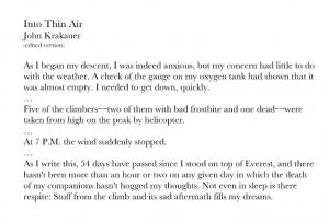 An edited excerpt