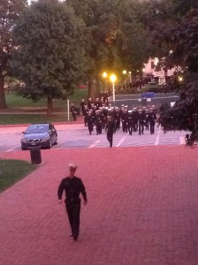 Midshipmen Arriving