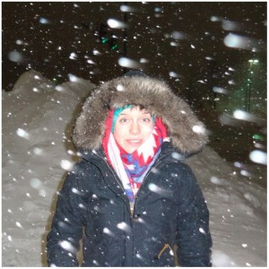 Snow and Jennifer Higham