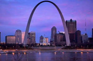 The Arch in St. Louis