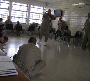 Inmates learn through Shakespeare's text at Westville Correctional Facility