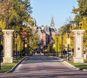 DePauw University in Greencastle, Indiana