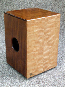A cajon drum box