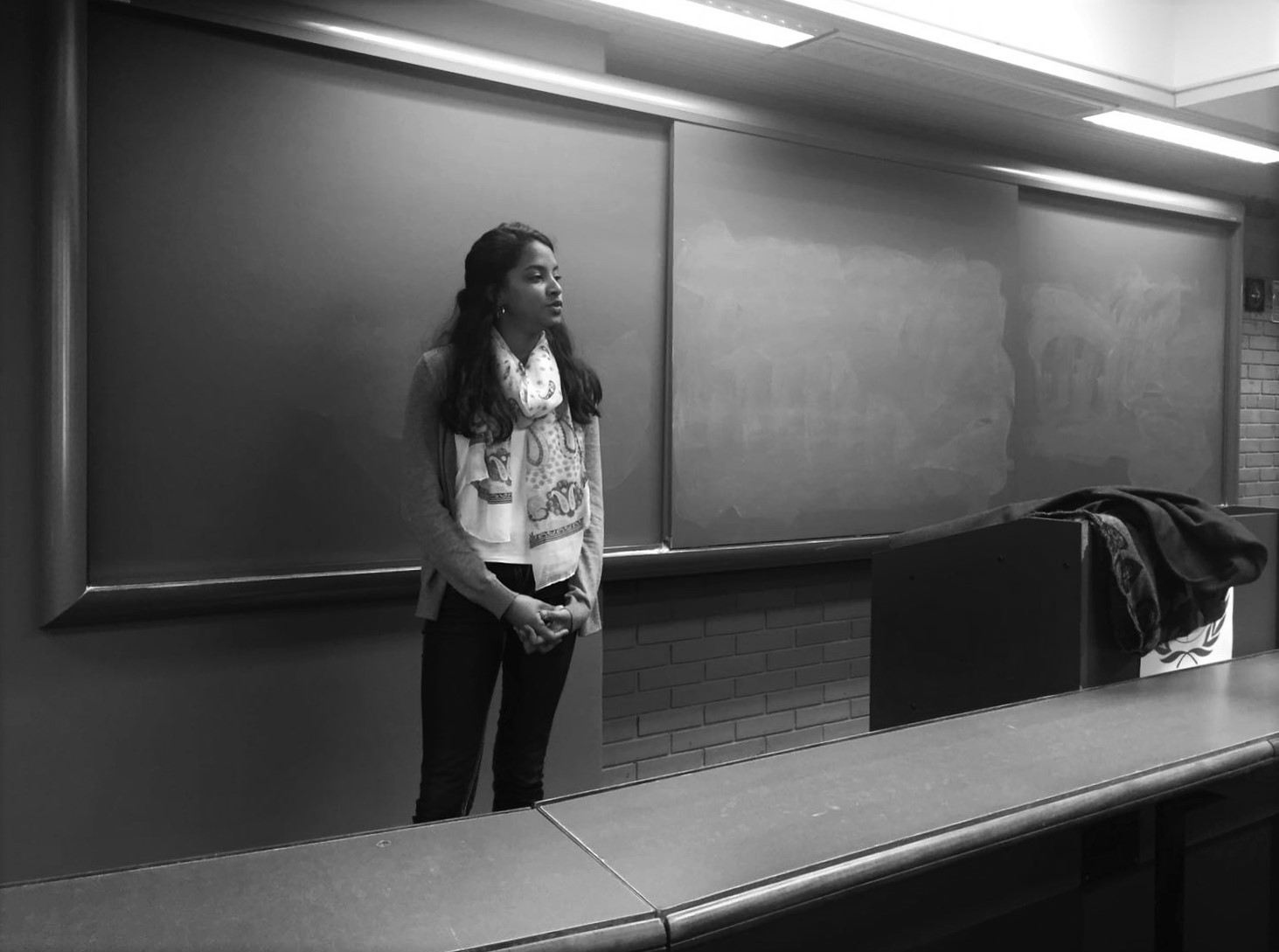 Oral presentation on art