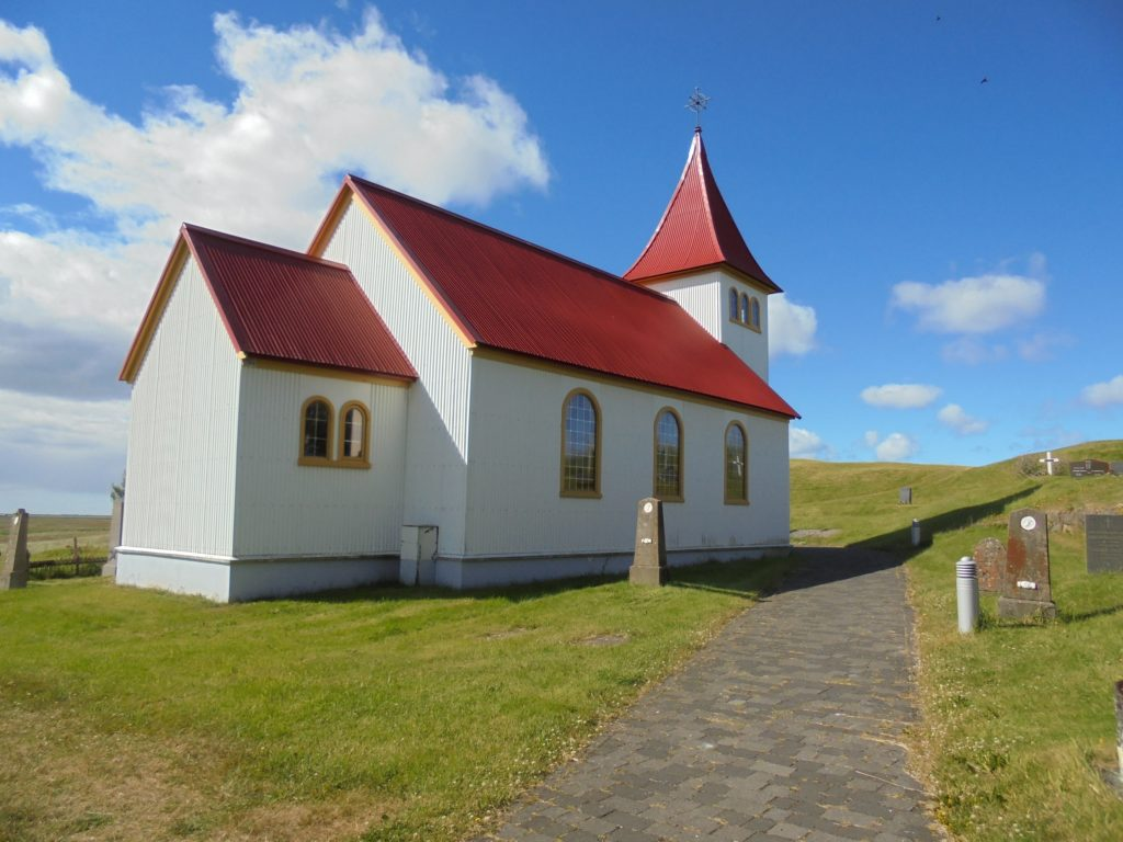 The church at Oddi.