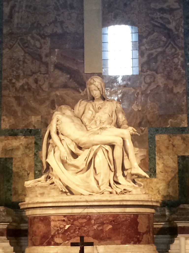 One of my favorite artworks of all time: Michelangelo's Pieta