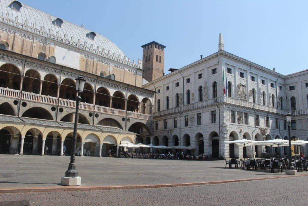 Another beautiful piazza in Padua, Piazza delle Erbe