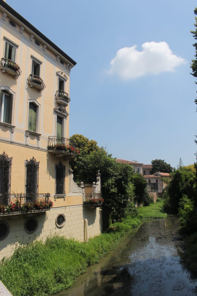 One of the canals in Padua!