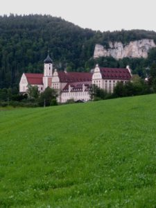 Benedictine Archabbey in the Donau River Valley town of Beuron