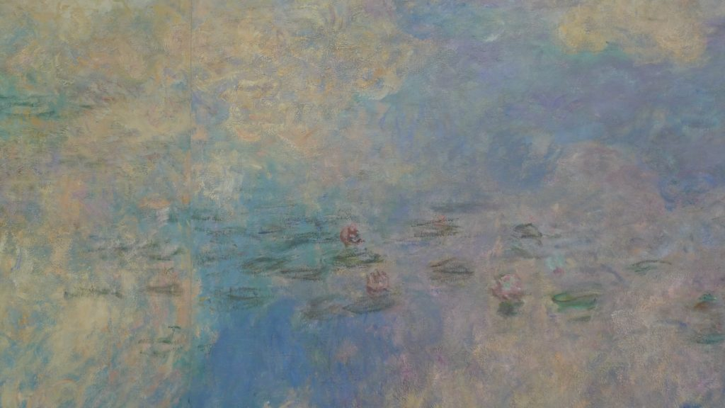 A Random Zoom-in of Monet's Waterlilies