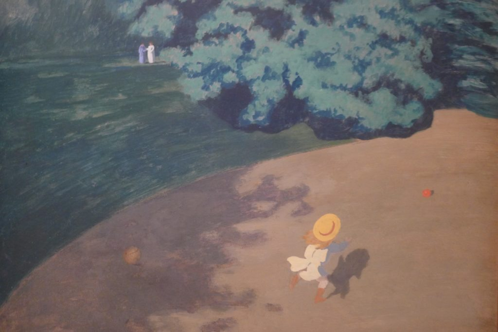 Le ballon (The Ball) by Félix Vallotton at Musée d'Orsay