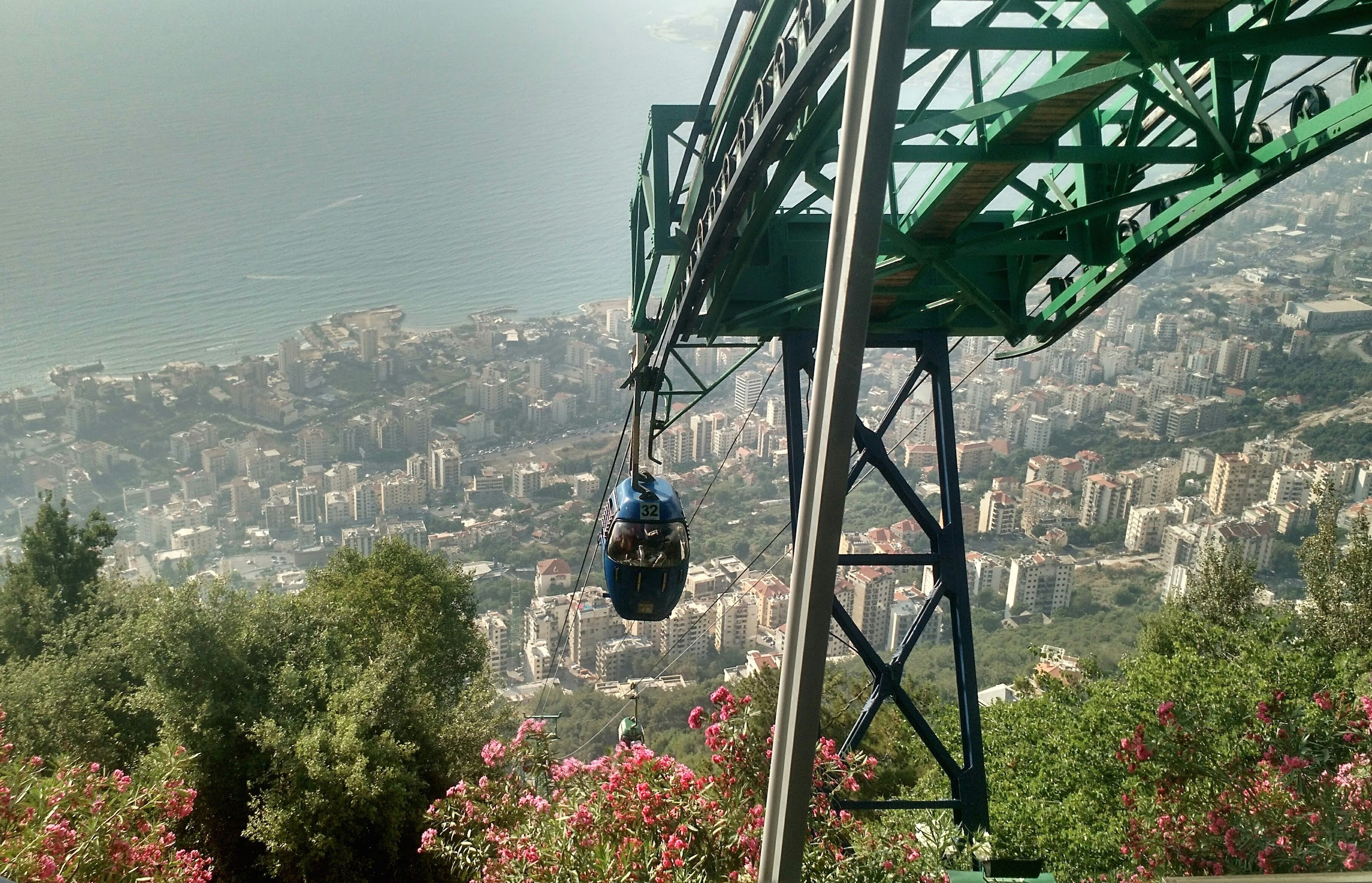 The teleferique to Harissa