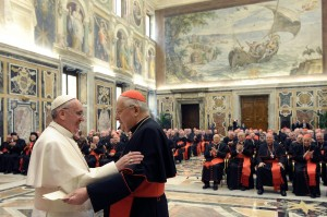Pope and Cardinal Sodano